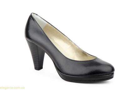 Жіночі туфлі на каблуку  ANNORA чорні