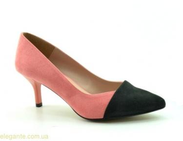 Женские туфли на каблуке DIGO DIGO розовые