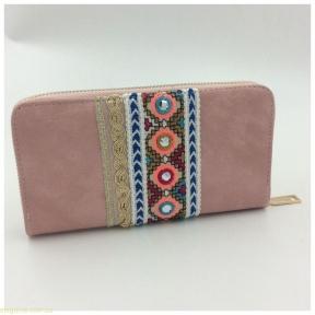 Женский бумажник JUVENIL  розовый