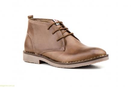 Мужские ботинки  PEPE AGULLO коричневые