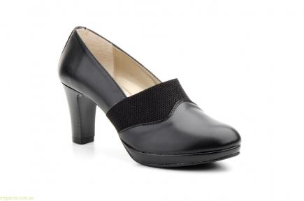 Женские туфли еластические ANNORA чёрные