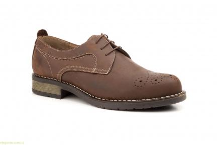 Чоловічі туфлі SCN6 коричневі