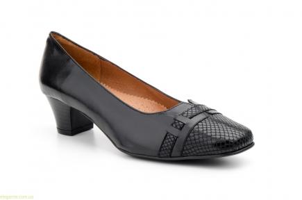 Женские туфли на каблуке JAM1 чёрные