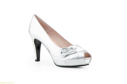 Жіночі туфлі TORNADO срібні від Jennifer Pallares
