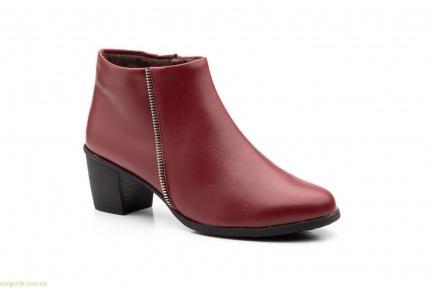 Жіночі черевики Cutillas1 бордові