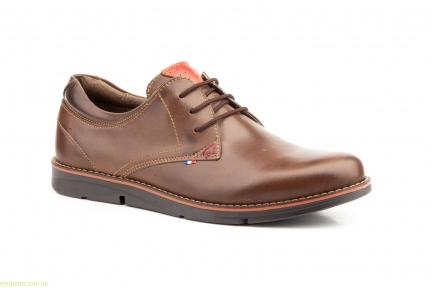Мужские туфли PEPE AGUILLO коричневые