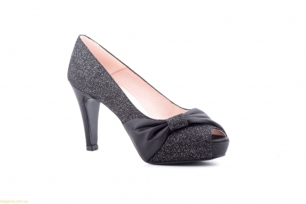 Жіночі туфлі VOGA чорні від Jennifer Pallares