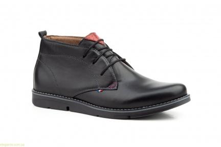 Мужские ботинки PEPE AGUILLO чёрные