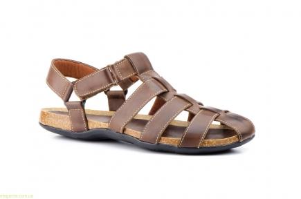 Чоловічі сандалі PEPE AGULLO коричневі