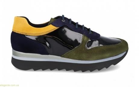 Жіночі кросівки MARLENE PRIETO колір хакі