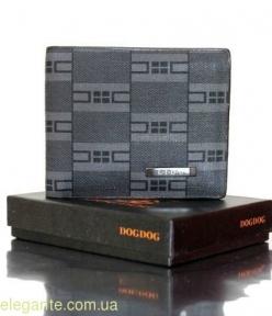 Мужской бумажник LIDU чёрный