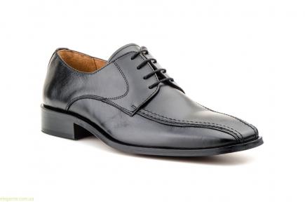 Мужские туфли CARLO GARELLI чёрные