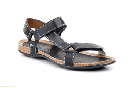 Мужские сандали открытие PEPE AGULLO чёрные