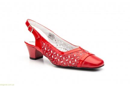 Женские туфли JAM красные