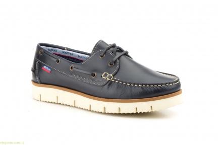 Мужские туфли мокасины NAUTIC BLUE синие