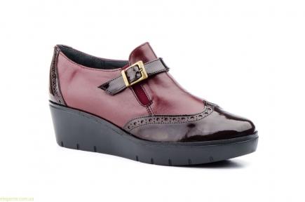 Женские туфли JAM бордовые