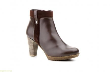 Женские ботинки AGATHA SHOES коричневые
