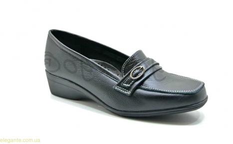 Женские кожаные класические туфли DIGO DIGO1 чёрные