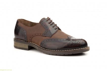 Чоловічі туфлі перешиті SCN коричневі