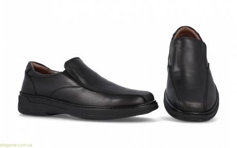 Мужские туфли классические анатомические  PRIMOCX  черные