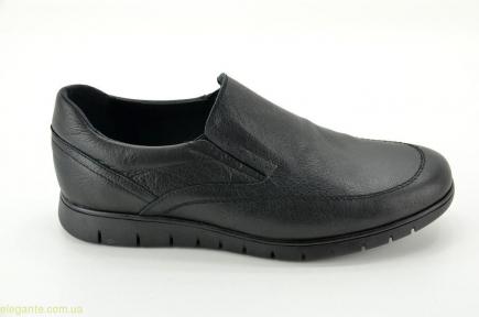 Мужские гибкие туфли  DJ SANTA1 чёрные
