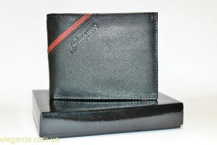 Чоловічий гаманець Livingston коричнева полоска