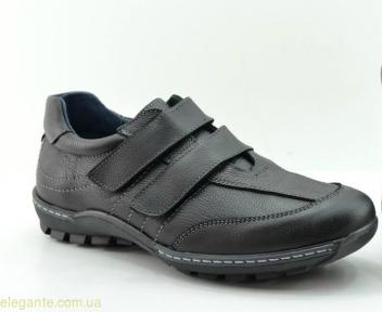 Чоловічі туфлі щоденні DJ SANTA3 чорні