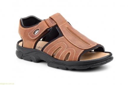 Чоловічі сандалі MORXIVA BIO колір нат. шкіри