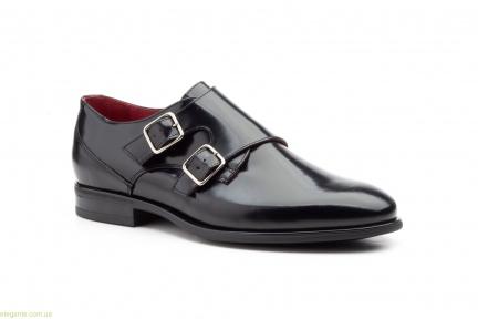 Мужские туфли с пряжками KEELAN  чёрные