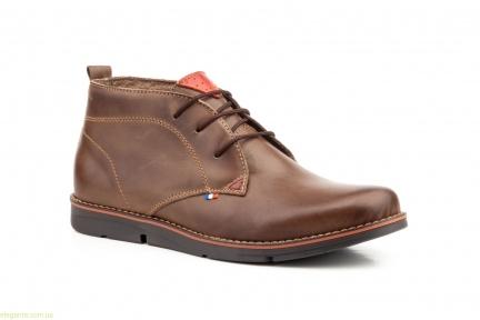 Чоловічі черевики PEPE AGUILLO коричневі