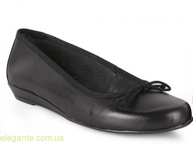 Женские балетки FIORDI чёрные