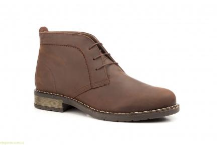 Мужские ботинки SCN1 коричневые