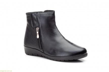 Женские ботинки на танкетке JAM2 чёрные