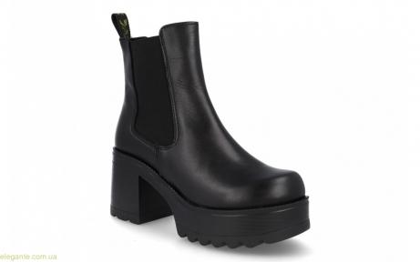 Женские ботинки эластичные JARPEX чёрные