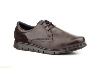 Мужские туфли на шнурках KEELAN2 коричневые