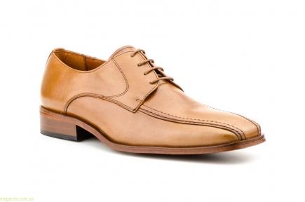 Мужские туфли CARLO GARELLI цвет нат. кожи