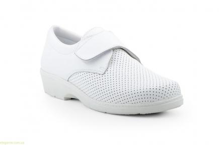 Женские фармацевтические туфли FARMA белые