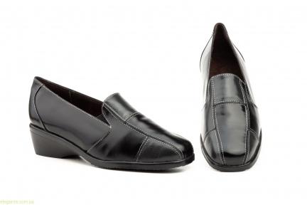Жіночі туфлі на танкетці JAM2 чорні