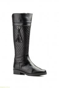 Жіночі чоботи JAM1 з пензликами чорні