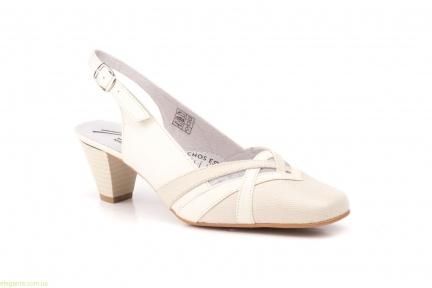 Жіночі туфлі JAM3 тілесні світлі