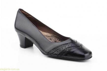 Женские туфли на каблуке JAM5 чёрные