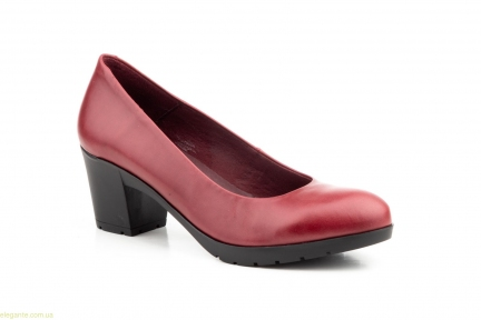 Жіночі туфлі MORXIVA бордові