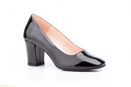 Женские туфли лаковые ANNORA чёрные