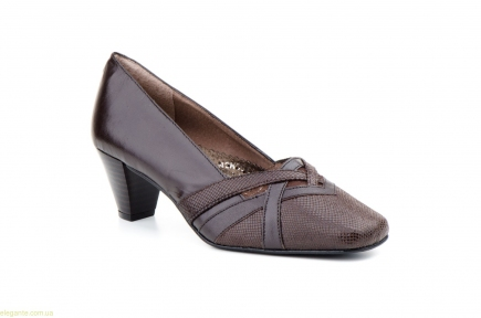Женские туфли JAM2 коричневые