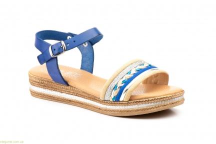 Женские сандалии JAM Mistral голубые