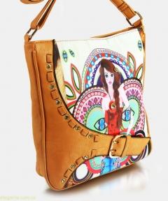 Женская сумочка JUVENIL светло-коричневая