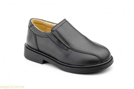 Дитячі шкільні туфлі SERNA чорні