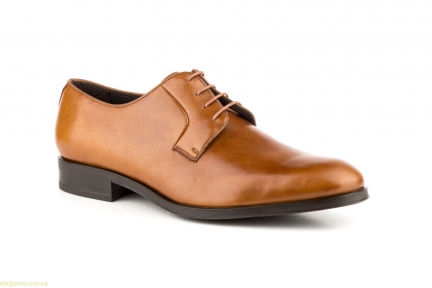 Чоловічі шкіряні туфлі Carlo Garelli колір нат. шкіри