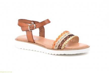 Женские сандалии MISTRAL коричневые