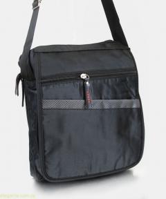Чоловіча сумочка на плече SPORT чорна